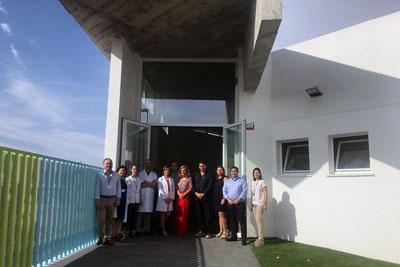 La delegada de Salud y Familias visita las instalaciones de la Escuela Infantil Hospital Reina Sofía