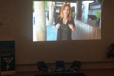 En el encuentro se emitió un vídeo que repasa los 20 años de comunicación en el HURS
