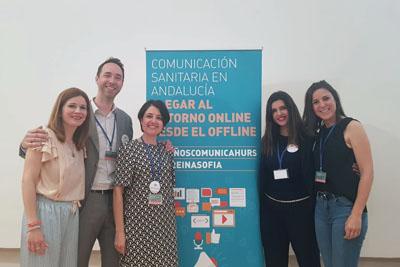Integrantes de la primera mesa analizaron las estrategias de las unidades de comunicación y las claves de una buena campaña de comunicación en salud