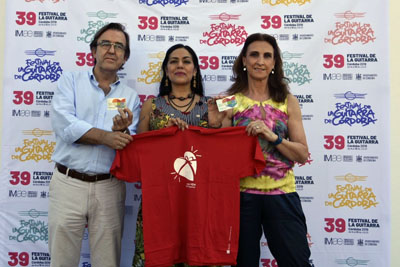 José Luis Gómez de Hita, Lila Downs y Aurea Jurado