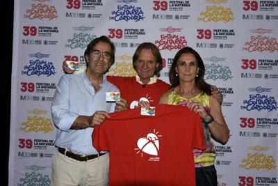 José Luis Gómez de Hita, David Russel y Aurea Jurado