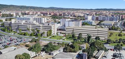 Montaje de como quedará el nuevo edificio de CCEE