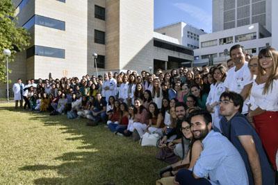 El Hospital recibe a los nuevos Especialistas Internos Residentes