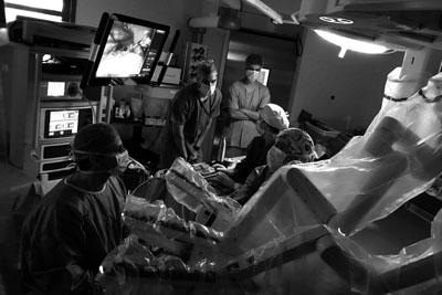 Primera hepatectomía de Andalucía mediante da Vinci