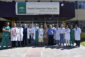 El Hospital Reina Sofía hace balance de la actividad realizada en cirugía robótica durante el primer año