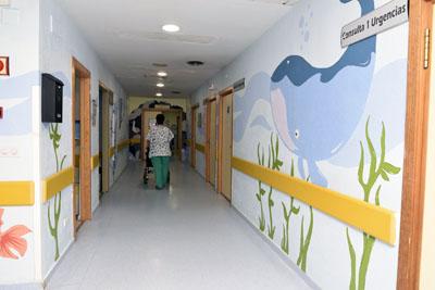El hospital reforma el área de urgencias pediátricas para mejorar la atención
