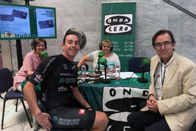 Onda Cero Córdoba realizó el programa en directo desde el hospital