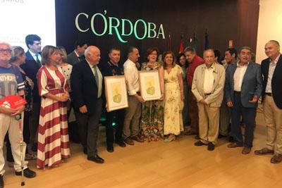 El premio es un grabado de la artista María Ortega