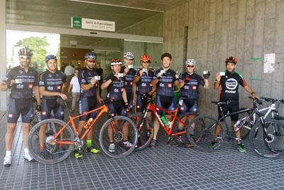Kilómetros de Vida a su paso por el CARE Carlos Castilla del Pino