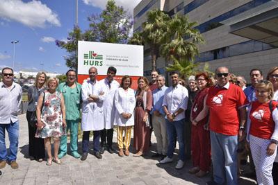Autoridades, profesionales y pacientes participan en esta iniciativa
