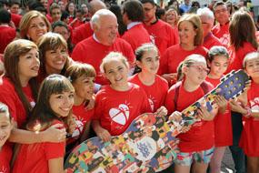 El consejero de Salud y Familias cierra la XVII Semana del Donante