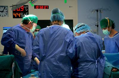 Imagen de una intervención quirúrgica