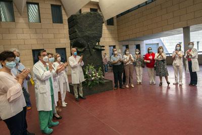 Un aplauso para los 1.094 donantes que ha registrado el hospital en estos 41 años