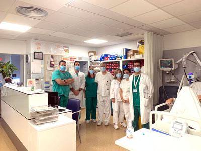 Equipo unidad ictus hospital reina sofia
