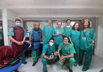 Imagen equipo de Cardiología que ha participado en el proceso