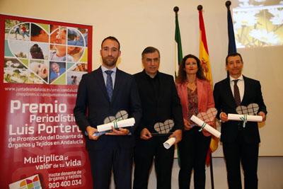 Los premiados destacan la importancia de la donación y el trasplante