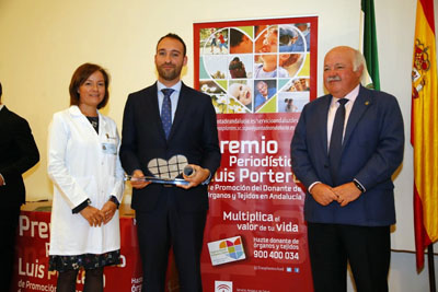 En la modalidad de prensa escrita esta edición reconoce el trabajo de Carlos Rocha Rodríguez publicado en Diario de Sevilla