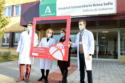 A pesar de la pandemia, el hospital ha conseguido mantener el ritmo de trasplantes