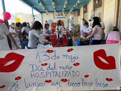 Acto por el Día del Niño Hospitalizado en Reina Sofía