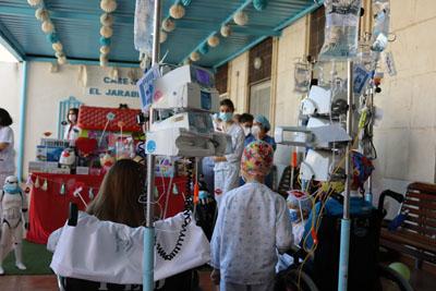 Los pequeños y sus familias celebran el Día del Niño Hospitalizado