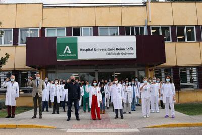 Celebración del Día Mundial del Riñón 2021 en el Hospital Reina Sofía