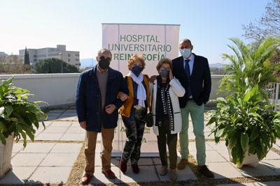 La familia Granados ha agradecido el cariño y la atención de los profesionales del Hospital Reina Sofía