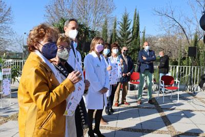 Pacientes, asociación y profesionales del hospita conmemoran el Día Mundial del Riñón