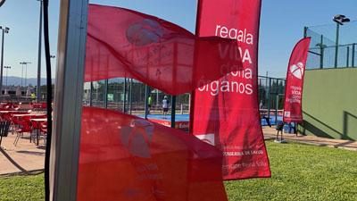 Comienza el I Torneo de padel por la donación de órganos