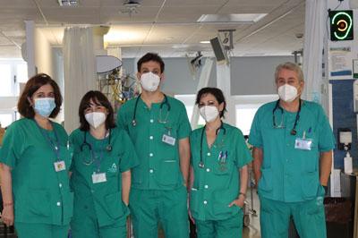 Equipo profesionales UCIP ganador mejor comunicación del 35 Congreso de la Sociedad Española de Cuidados Intensivos Pediátricos
