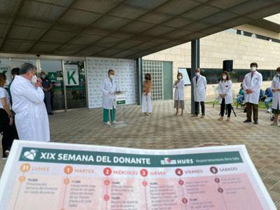 La XIX Semana del Donante se llena de actividades para promocionar la donación de órganos