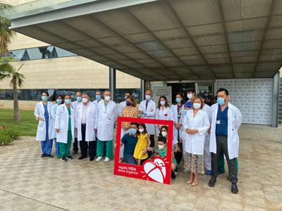 Se ha dado a conocer la historia de Sofía, una niña de 6 años de la provincia de Sevilla con una cardiopatía congénita compleja