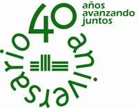 Logo 40 aniversario con lema