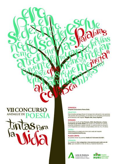 Cartel VII Concurso Tintas para la Vida