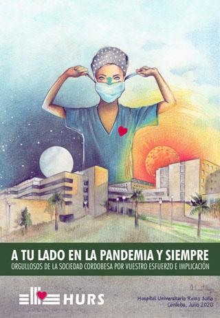 Cartel a tu lado en la pandemia y siempre