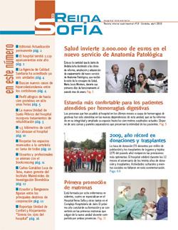 Portada del Reina Sofía nº 18 Abril 2010