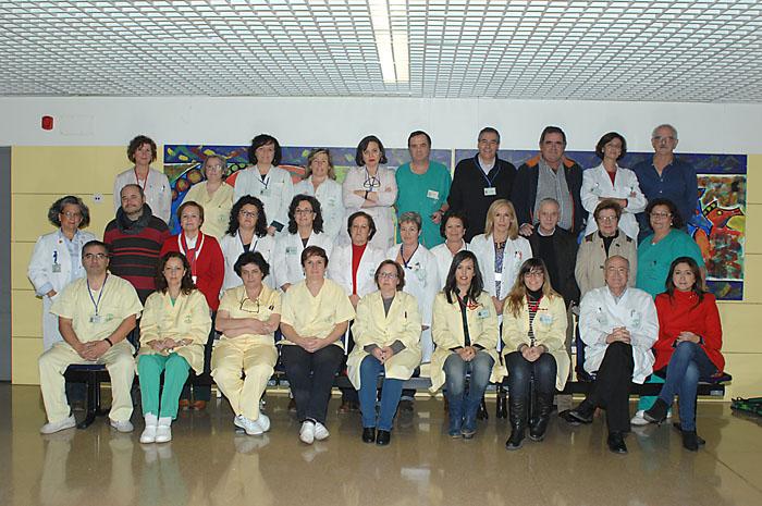 Foto de grupo del servicio