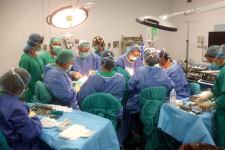Quirófano de Cirugía Maxilofacial