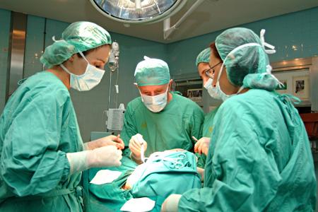 Quirófano del Servicio de Cirugía Plástica