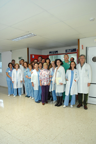 Profesionales del Servicio de Cirugía Torácica