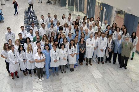 Equipo profesionales de Medicina Interna
