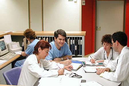 Profesionales de Medicina Interna
