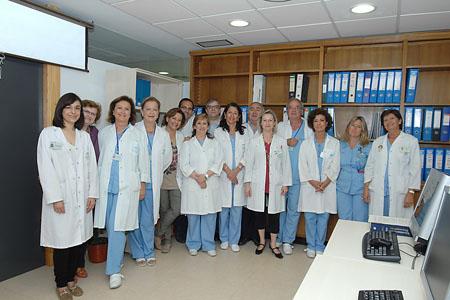 Equipo de profesionales del Servicio de Medicina Preventiva