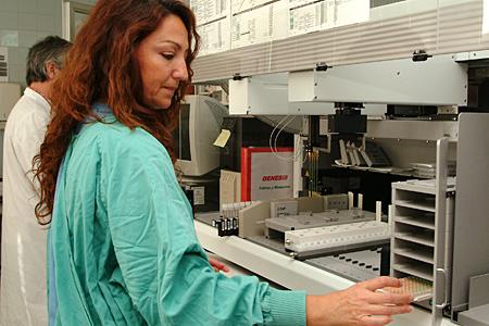 Actividad del Servicio de Microbiología