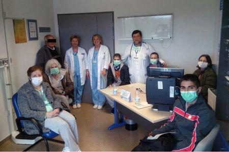 Aula formativa de Pacientes y cuidadores de trasplante pulmonar