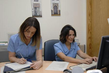 Hospital de día, control de enfermería