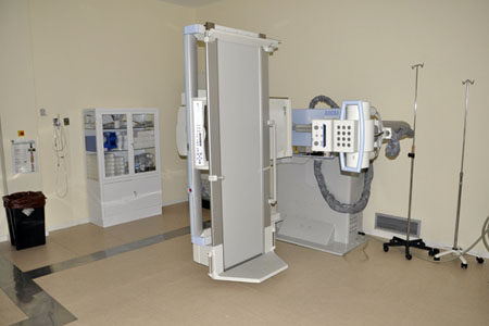 Sala 4 telemando. Hospital Provincial (abdomen)
