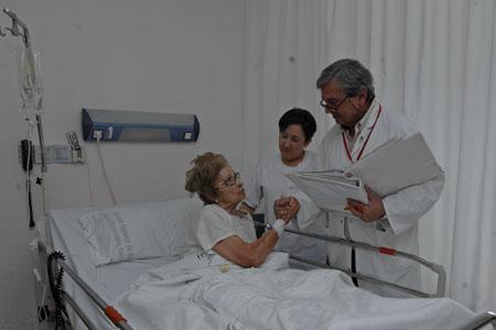Pasando sala Dr. Pedro López