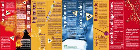 Folletos informativos de Prevención de Riesgos Laborales