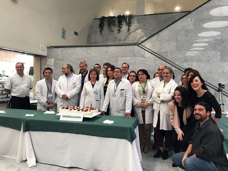 Profesionales y usuarios celebran el aniversario