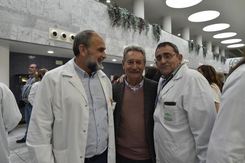 Antonio Llergo, Jesús Lozano, Mariano Ledesma